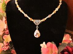 Pretty in Pink  Pink Crystal Pendant on by RomanticThoughts, $38.95 -SOLD-