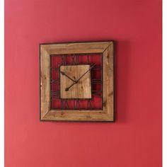Square Roman Numeral Wall Clock