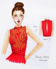 dress template