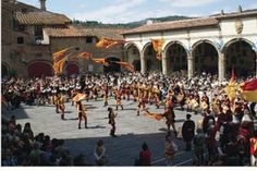 Medevil Parade in Preperations of the Palio