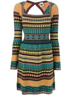 M MISSONI - Cut-Out Sweater Dress