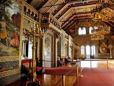 Singers' Hall, Schloss Neuschwanstein, Schwangau, Deutschland by J-Fish, via Flickr