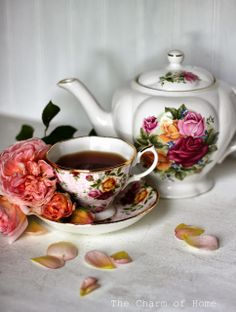 "The Charm of Home: A ""Pink"" Tea"