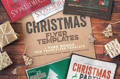 Christmas Flyers Bundle by Zeppelin Graphics on Creative Market