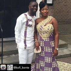 "25 Likes, 1 Comments - Ghana Wedding (@ghanaianswedding) on Instagram: ""@kofi_kente - Thursday Born.. Yaw weds Yaa Wishing you a Happy  Marriage    """