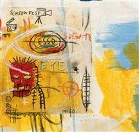 Screen test by Jean-Michel Basquiat