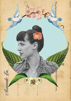 Collage 'Tiê - Assinado Eu' by Gustavo Gontijo.