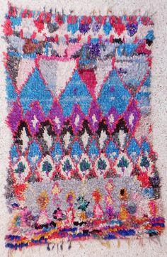 Boucherouite Rug 4#5 - 6.5 x 4