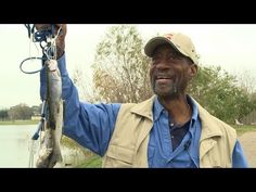 Rainbow Trout Stocking At  Burke Crenshaw Park - YouTube