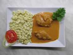 Tejfölös nyúl Ale, Favorite Recipes, Chicken, Meat, Kitchen, Food, Red Peppers, Cooking, Eten