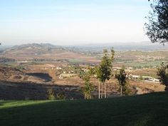 Views of hills in Simi Valley CA