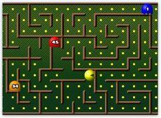 Fun games (including my kids' favorite- PacMan Math)