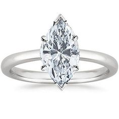 1 Carat GIA Certified White Gold Solitaire Marquise Cut Diamond Engagement Ring Ct G-H Color, Clarity) Features Satisfaction guaranteed. Houston Diamond District offers a 30 day return policy on all of its products We only sell Natural, un-treated ,. Marquise Cut Diamond, Diamond Cuts, Solitaire Diamond, Diamond Rings, Gemstone Rings, 1 Carat, Engagement Ring Settings, Diamond Engagement Rings, Wedding Jewelry