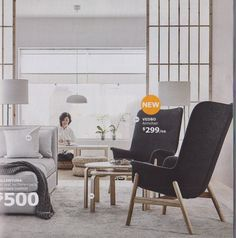 #9: VEDBO High Back Armchair — Top 10 Favorite New IKEA Products Countdown