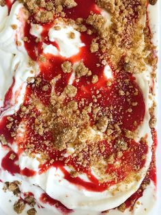 The Cooking of Joy: Cherry Pit Ice Cream with Cherry Ripple and Brown Butter Streusel Sour Cherry, Brown Butter, Frozen Treats, Sweet Recipes, Spices, Peach, Ice Cream, Joy, Fruit