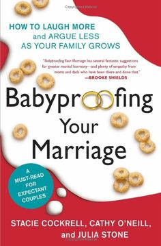 Must read for all expecting and current parents! Avoid so many arguments and understand each others different roles as mother and father! Plus it's funny! http://www.babble.com/toddler/top-9-toddler-parenting-books/