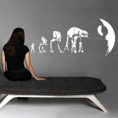 Fancy - Dark Side Evolution Wall Decals