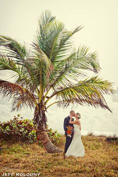 Bride and Groom at dunes of Fort Lauderdale.