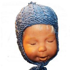 Babyer trenger også luer... - Fra kosekroken - Chris-Ho.com Knitted Hats, Crochet Hats, Barn, Beanie, Knitting, Design, Fashion, Knitting Hats, Moda