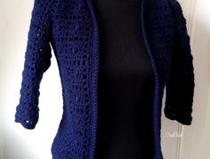 Stella vest haken - CreaChick Crochet Coat, Knitting, Sweaters, Jackets, Fashion, Woman, Blouses, Wraps, Tejidos