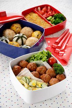 コロコロミートボールのピクニック弁当|JUNAっちの食卓へようこそ!【cotta*コッタ】通販サイト