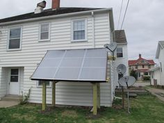 DIY Solar Water Heating for 7 Unit Apartment from Build-It-Solar Blog: