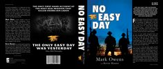 """No Easy Day"" Redesign by Joshua Bauder, via Behance"