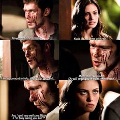 "#TheOriginals 2x06 ""Wheel Inside the Wheel"" - Klaus and Hayley"