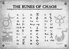 Chaos Runes Renegades Heretics Runes, Alphabet, Alphabet symbols Newest Cheats and Hacks.