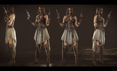 ArtStation - The Gunslinger (Wild West), Mahabir Singh 3d Character, Character Design, Unreal Engine, Zbrush, Wild West, Fun Projects, Westerns, Guys, Female