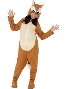 Buy Child Fox Onesie Costume, available for Next Day Delivery. Become a Sly Little Fox in our Child Fox Onesie Costume! Onesie Costumes, Fox Costume, Animal Halloween Costumes, Fancy Dress Ball, Baby Tigers, Brown Zip Ups, Fantastic Mr Fox, 10 Year Old Girl, Cute Fox