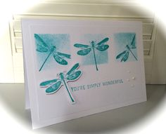 You're simply wonderful - Awesomely Artistic, Stampin' Up!