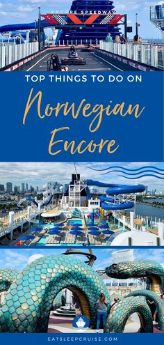 Norwegian Encore offers plenty to do while sailing the Caribbean. Our list of the Top Things to Do on Norwegian Encore is the perfect place to start. Packing For A Cruise, Cruise Travel, Cruise Vacation, Cruise Checklist, Cruise Tips, Cruise Excursions, Cruise Destinations, Cruise Ship Reviews, Cruise Pictures