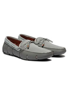 Swims Grey Sparkle Lace Loafers | Accent Clothing