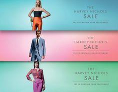 Harvey Nichols's sale ads :s