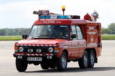 Volunteer Firefighter, Firefighters, 6x6 Truck, Automobile, Range Rover Classic, Cars Land, Rescue Vehicles, Fire Apparatus, Search And Rescue