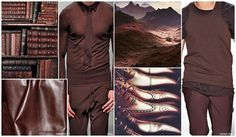 Sienna Brown -  Red-cast shades of Earth brown point to an increasing acceptance of non-traditional hues used as 'new' neutrals for menswear.
