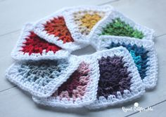 Use these cute, fast-finish squares by Repeat Crafter Me​ to make a scarf, pillow, or even a blanket! Get her free crochet pattern and make them with a rainbow of colors in Vanna's Choice.