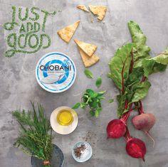 Just add good / Diseño gráfico y varieté de comidas