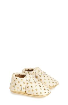 Freshly Picked Leather Moccasin (Baby & Walker) available at #Nordstrom