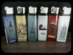 New series of Tokai lighter, the city icons
