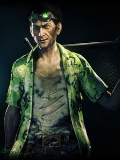 Riddler in Arkham Knight