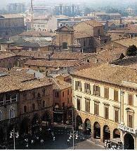 Historic center, Forli' Italy