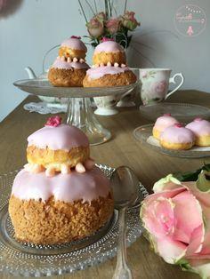 Religieuse Rose-Framboise {Foodista Challenge #16} | Cyrielle Gourmandise