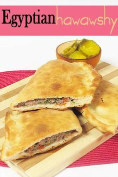 *** yummy and easy-ish to make. The meat has a slight sweet flavor that some might not like. I loved that about it tho. Middle East Food, Middle Eastern Dishes, Middle Eastern Recipes, Empanadas, Tamales, Tostadas, Nachos, Enchiladas, Egyptian Food