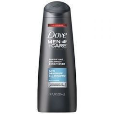 Dove Men+Care 2 in 1 Shampoo and Conditioner, Anti Dandruff, 12 oz, 4 count Dove Shampoo And Conditioner, Best Hair Conditioner, Best Anti Dandruff Shampoo, Best Shampoos, Mens Shampoo, Dove Men Care, Shampoo For Thinning Hair, How To Make Hair, Body Wash