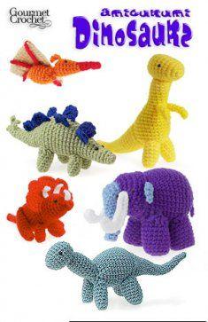 Amigurumi Dinosaurs