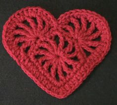 Crochet Heart Felicity | Crochet Geek - Free Instructions and Patterns