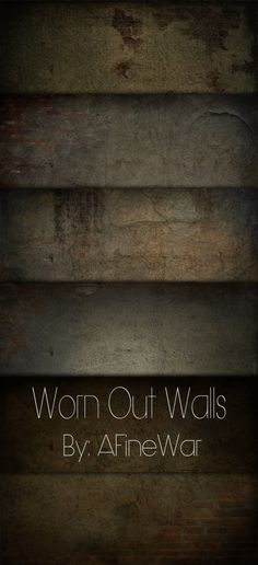 Free Worn Out Walls Textures