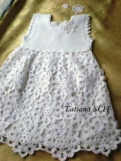 Croche pro Bebe: Vestidinhos e